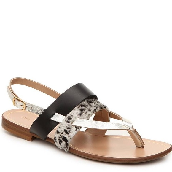 2ed35b5a7265 MERCANTI FIORENTINI Cow Leather Sandals